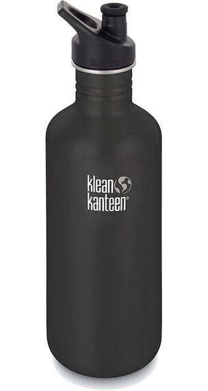 Klean Kanteen Classic Bottle 1182 ml w/ Sport Cap 3.0 Shale Black